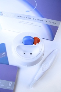 Male and female fertility test kit.